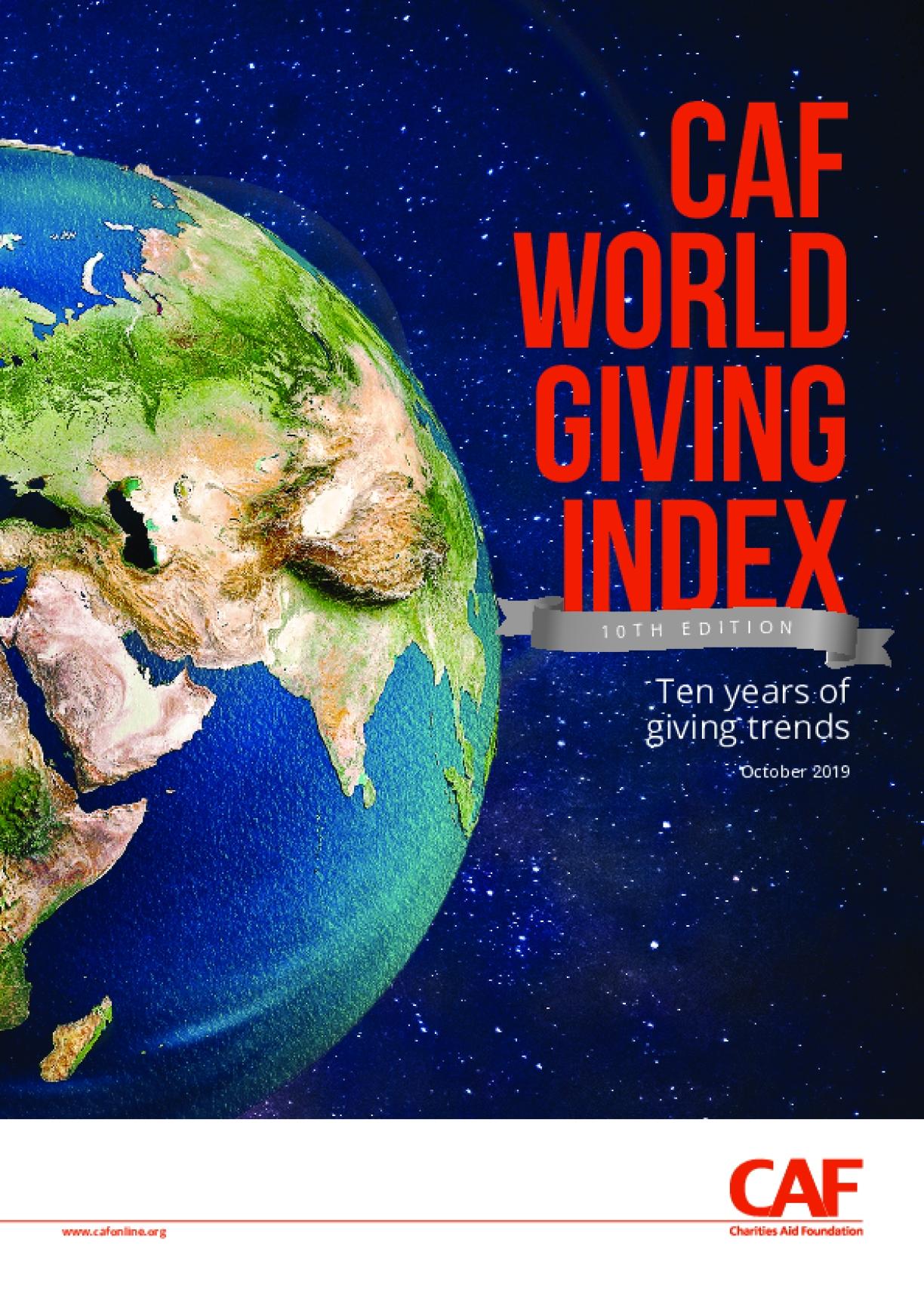 CAF World Giving Index