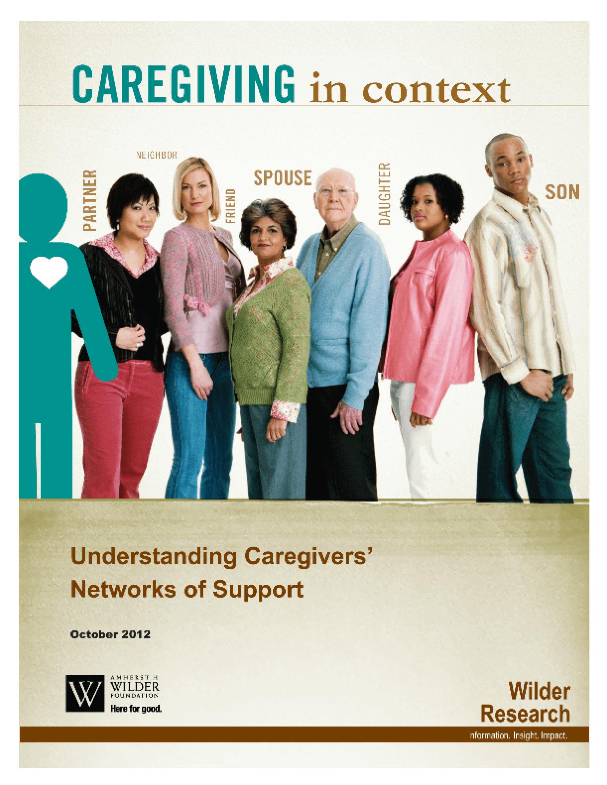 Caregiving in Context: Understanding Caregivers' Networks of Support