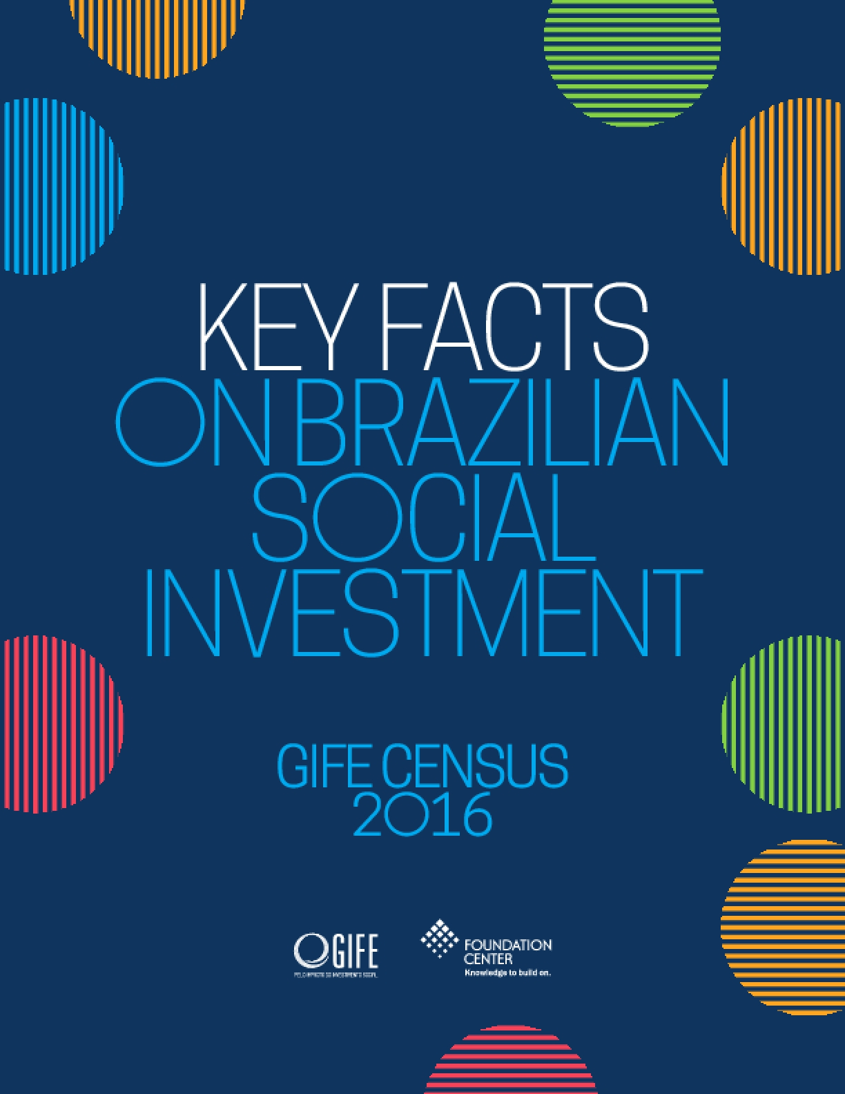 Key Facts on Brazilian Social Investment: GIFE Census 2016
