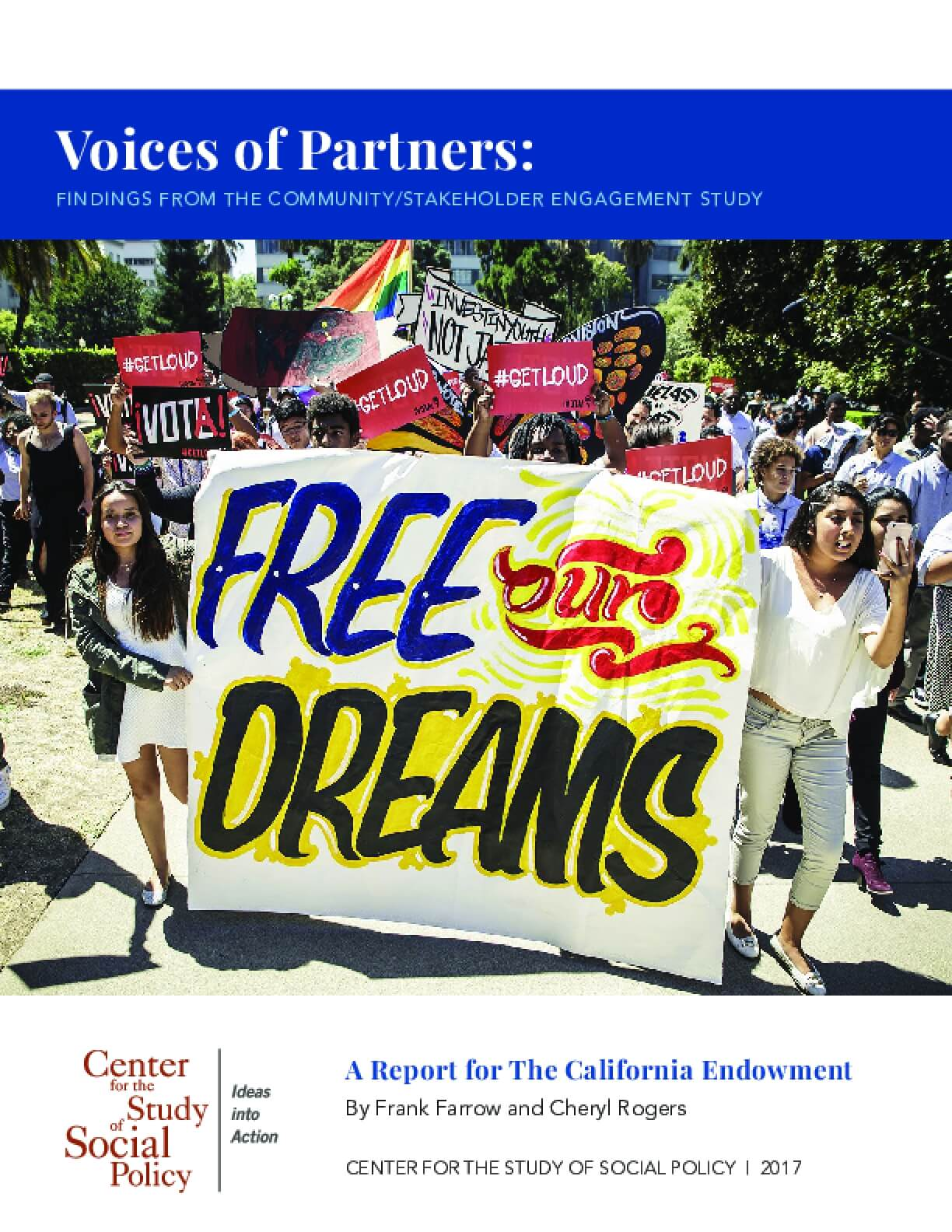 Voices of Partners: Findings from the Community/Stakeholder Engagement Study