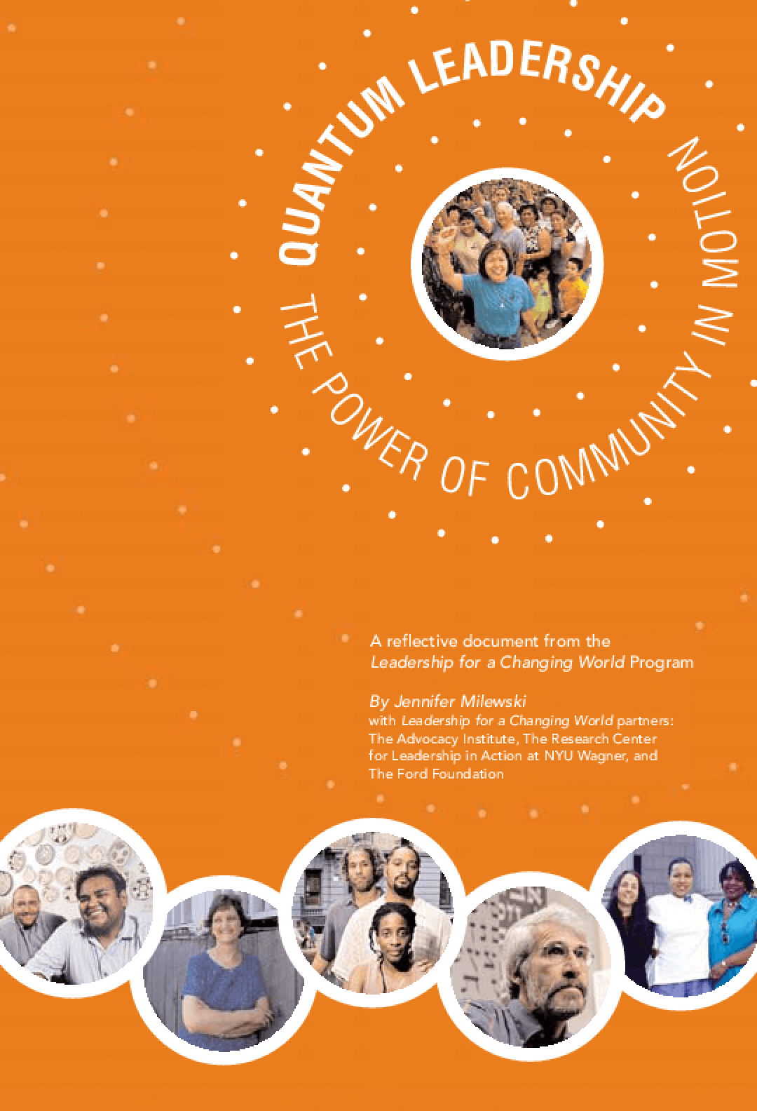 Quantum Leadership: The Power of Community in Motion