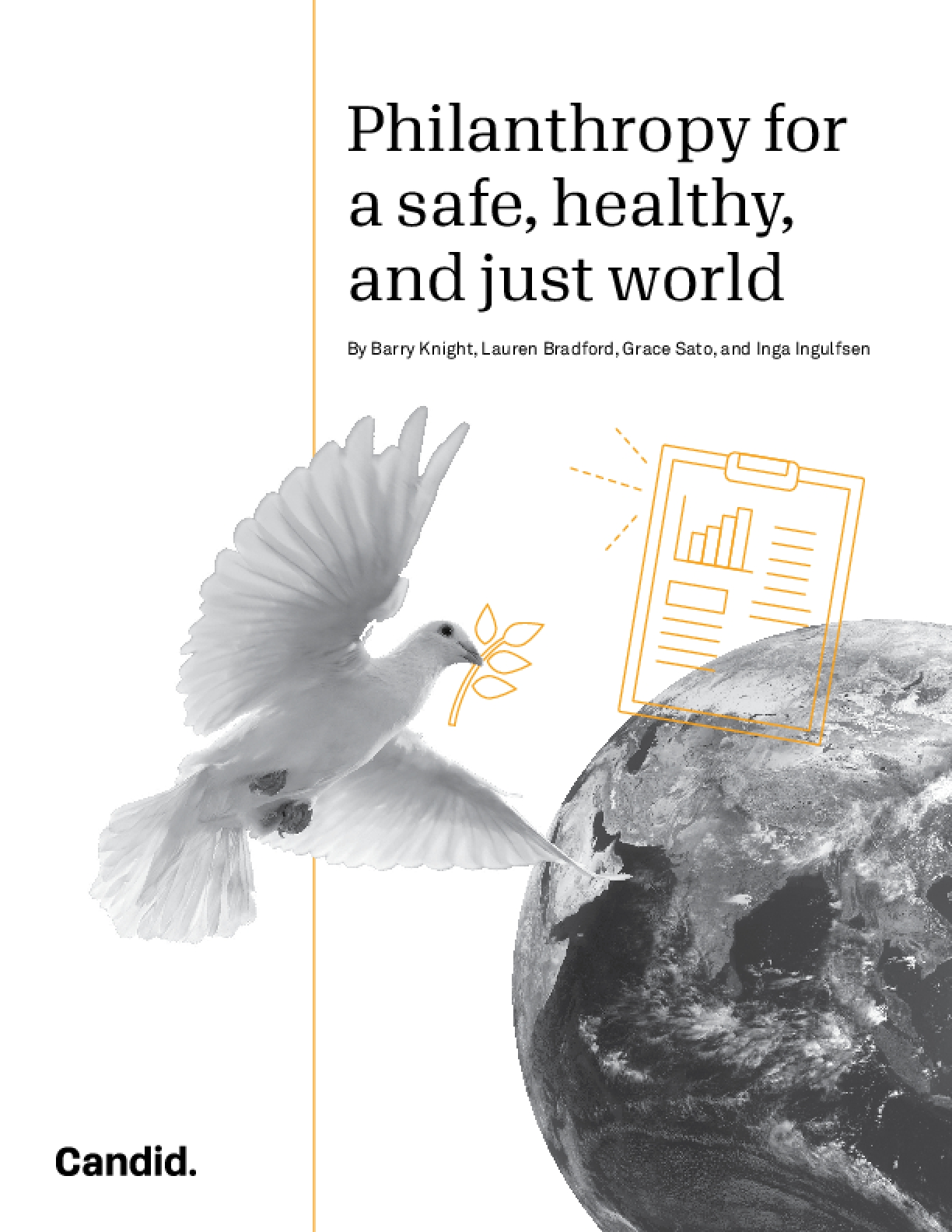 Philanthropy for a safe, healthy, and just world