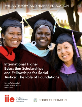 International Higher Education Scholarships and Fellowships for Social Justice: The Role of Foundations