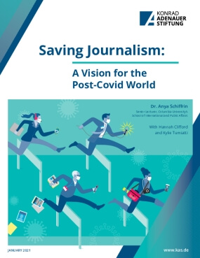 Saving Journalism: A Vision for the Post-Covid World